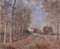 An Area of the Woods, by Alfred Sisley