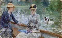 Summer's Day, by Berthe Morisot