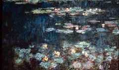 Green Reflections, by Claude Monet