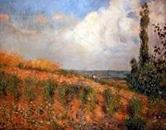Approach of the Storm, by Camille Pissarro