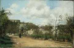 View from Louveciennes, by Camille Pissarro