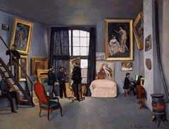The Artist's Studio, by Frederic Bazille