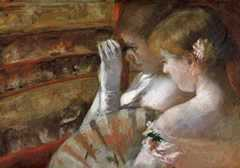 In the Box, by Mary Cassatt