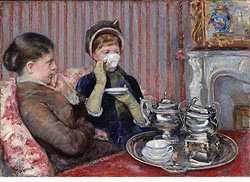Tea, by Mary Cassatt