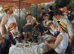The Luncheon of the Boat Party, by Pierre-Auguste Renoir